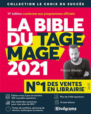 La bible du Tage Mage : 2021
