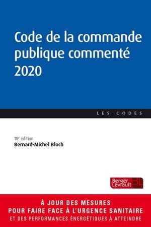 Code de la commande publique commenté 2020