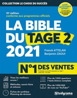 La bible du Tage 2 : 2021