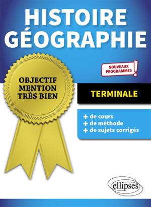 Histoire géographie terminale : nouveaux programmes