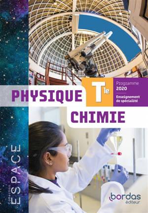 Physique chimie terminale, enseignement de spécialité : programme 2020