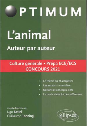 Oeuvre, auteur par auteur : culture générale, prépa ECE-ECS : concours 2021