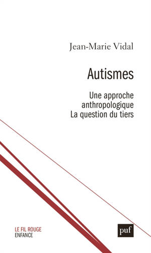 Autismes : une approche anthropologique : la question du tiers