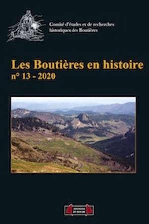 Boutières en histoire (Les). n° 13