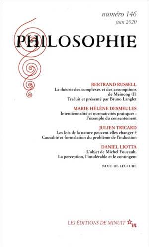 Philosophie. n° 146