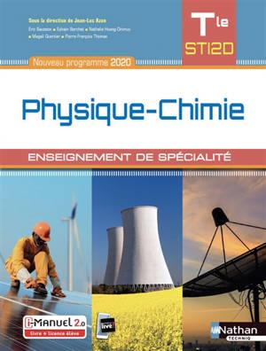 Physique chimie terminale STI2D, enseignement de spécialité : nouveau programme 2020