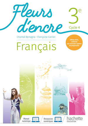 Français 3e, cycle 4 : manuel : conforme aux nouveaux repères de progression