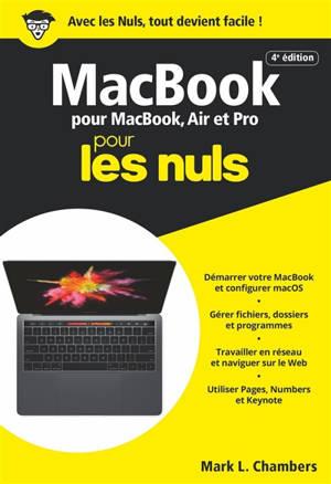 MacBook pour les nuls : pour MacBook, Air et Pro