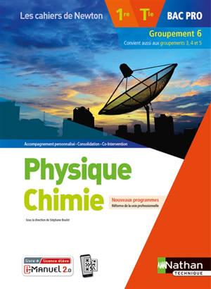 Physique chimie 1re, terminale bac pro, groupement 6 : nouveaux programmes, réforme de la voie professionnelle