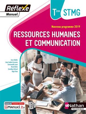 Ressources humaines et communication, terminale STMG : nouveau programme 2019