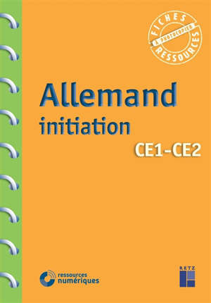 Allemand initiation, CE1-CE2