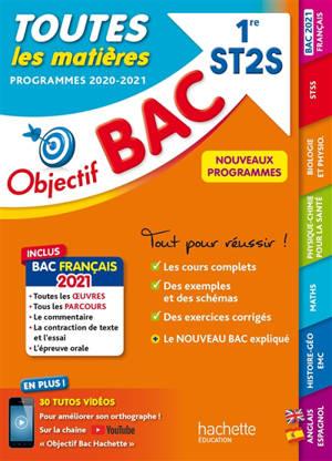Toutes les matières 1re ST2S : programmes 2020-2021