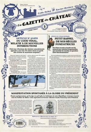 La gazette du château. Volume 5