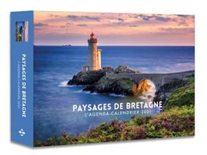 Paysages de Bretagne : l'agenda-calendrier 2021