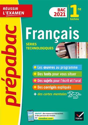 Français 1re technologique : bac 2021