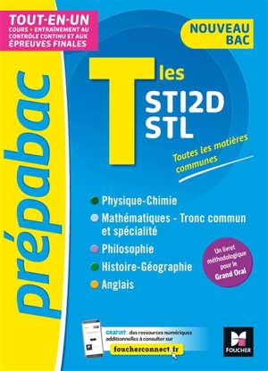 Terminales STI2D, STL : tout-en-un : nouveau bac