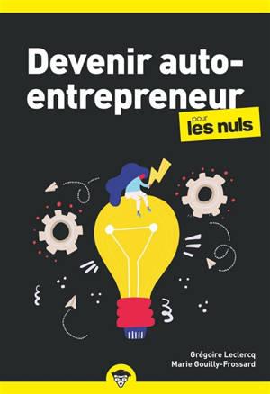 Devenir auto-entrepreneur pour les nuls