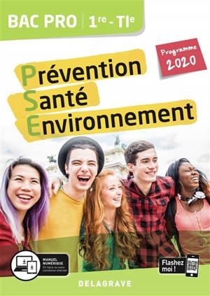 Prévention santé environnement 1re, terminale bac pro : programme 2020
