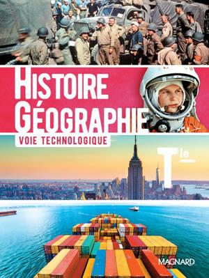 Histoire géographie terminale, voie technologique