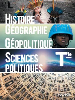 Histoire géographie, géopolitique, sciences politiques terminale