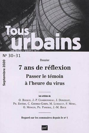 Tous urbains. n° 30