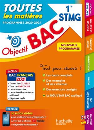 Toutes les matières 1re STMG : programmes 2020-2021