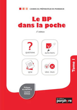 Le BP dans la poche. Volume 1