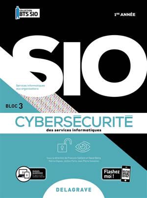 Cybersécurité des services informatiques, 1re année : bloc 3