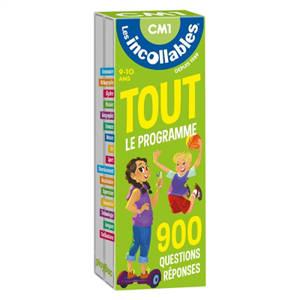 Les incollables : tout le programme CM1, 9-10 ans : 900 questions réponses