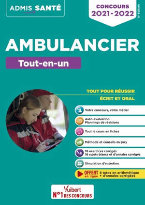 Ambulancier : tout-en-un : concours 2021-2022