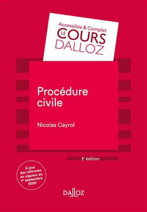 Procédure civile : 2020