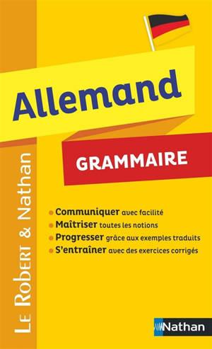Allemand : grammaire