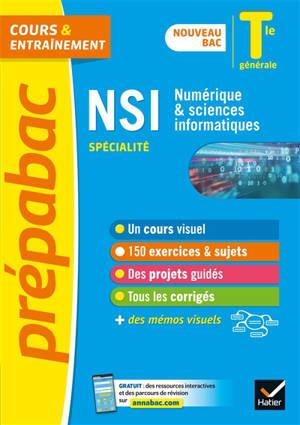 NSI, Numérique & sciences informatiques, spécialité : terminale générale : nouveau bac