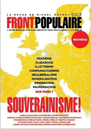 Front populaire. n° 1, Souverainisme !