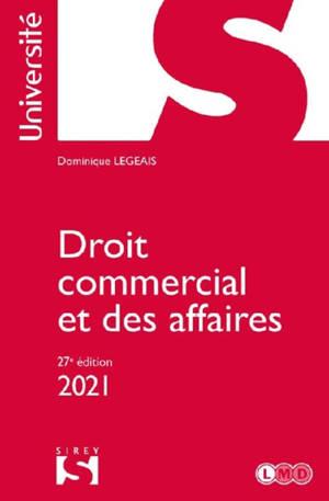 Droit commercial et des affaires : 2021