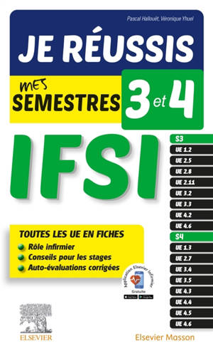 Je réussis mes semestres 3 et 4 ! : IFSI