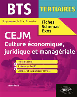 CEJM, culture économique, juridique et managériale, BTS tertiaires : programme de 1re et 2e années