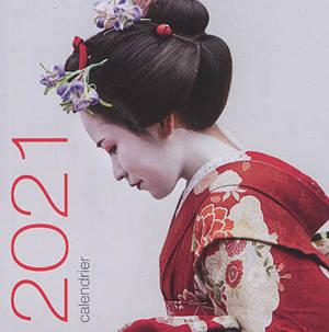 Japon : calendrier de table 2021