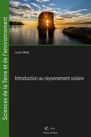 Introduction au rayonnement solaire