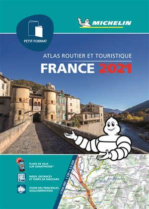 France 2021 : atlas routier et touristique