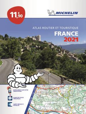 France 2021 : atlas routier et touristique = France 2021 : tourist and motoring atlas = France 2021 : Strassen- und Reiseatlas