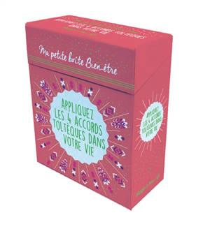 Ma petite boîte bien-être : appliquez les 4 accords toltèques dans votre vie