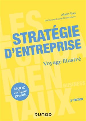 Stratégie d'entreprise : voyage illustré