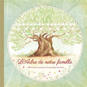 L'arbre de notre famille : album pour reconstituer la généalogie familiale