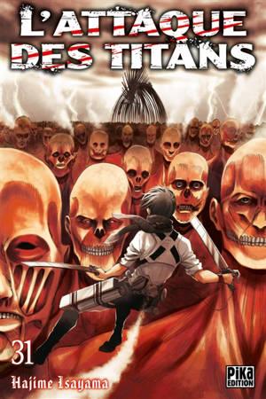L'attaque des titans. Volume 31