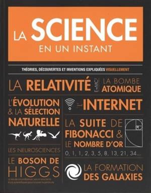 La science en un instant : théories, découvertes et inventions expliquées visuellement