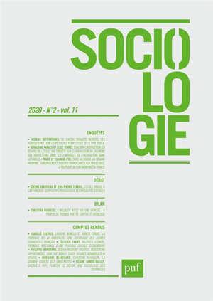 Sociologie. n° 2 (2020)