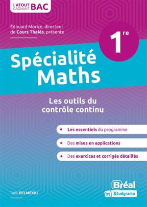Spécialité maths 1re : les outils du contrôle continu