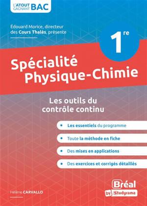 Spécialité physique chimie 1re : les outils du contrôle continu