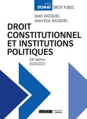 Droit constitutionnel et institutions politiques : 2020-2021